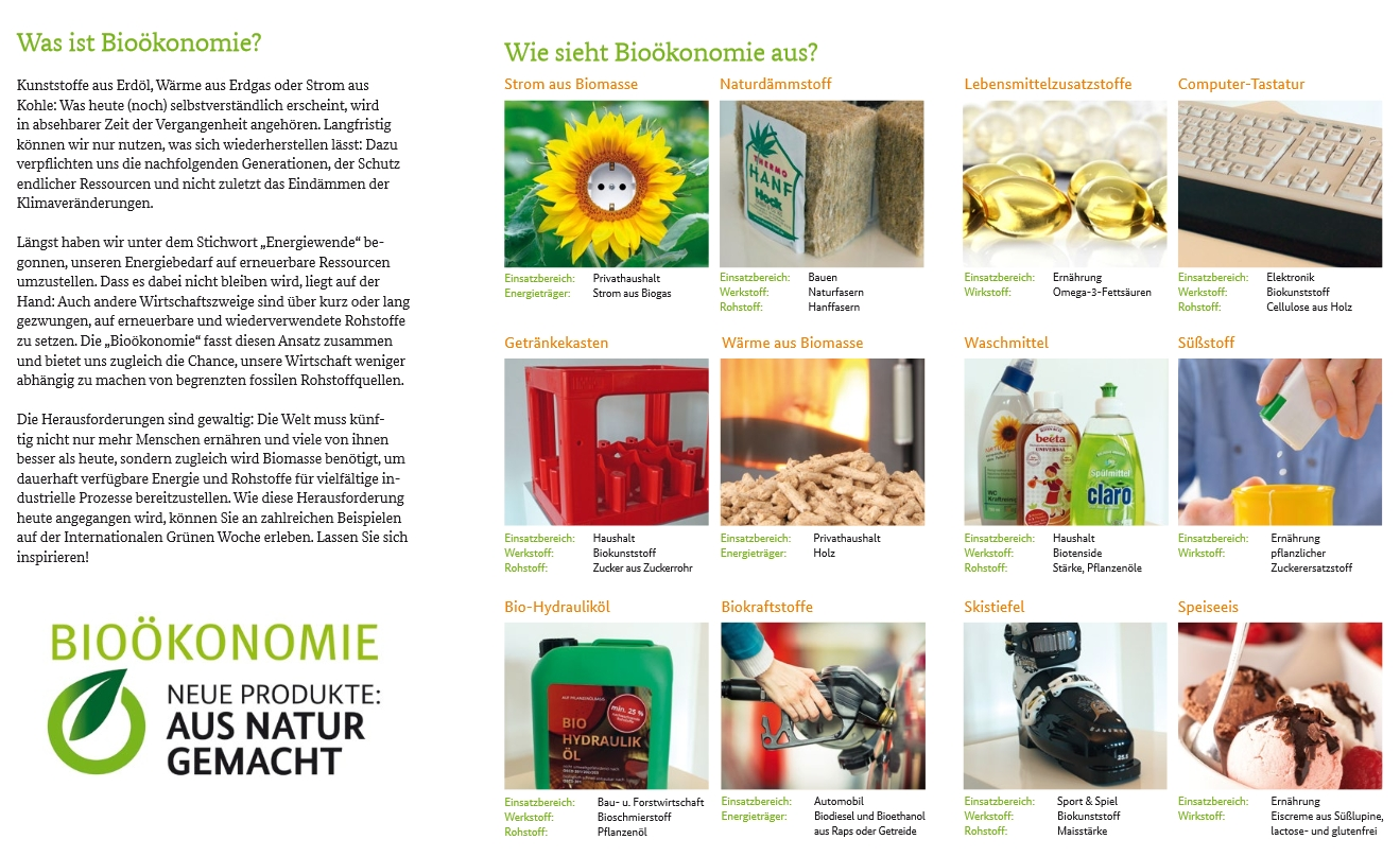 Was ist Bio�konomie?